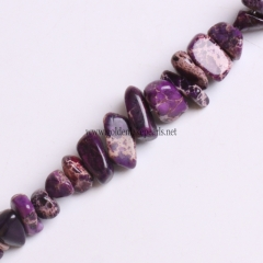 Purple Color Impression Jasper Chips, Approx 5x8mm, Approx 38cm